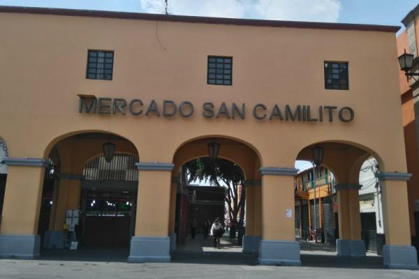 Mercado de San Camilito en Garibaldi.
