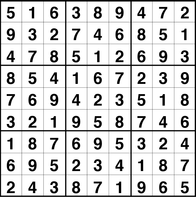 Solución sudoku: 22 septiembre 2020
