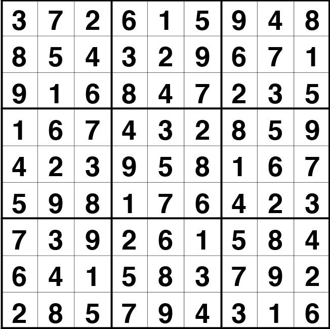 Solución sudoku: 5 mayo 2021